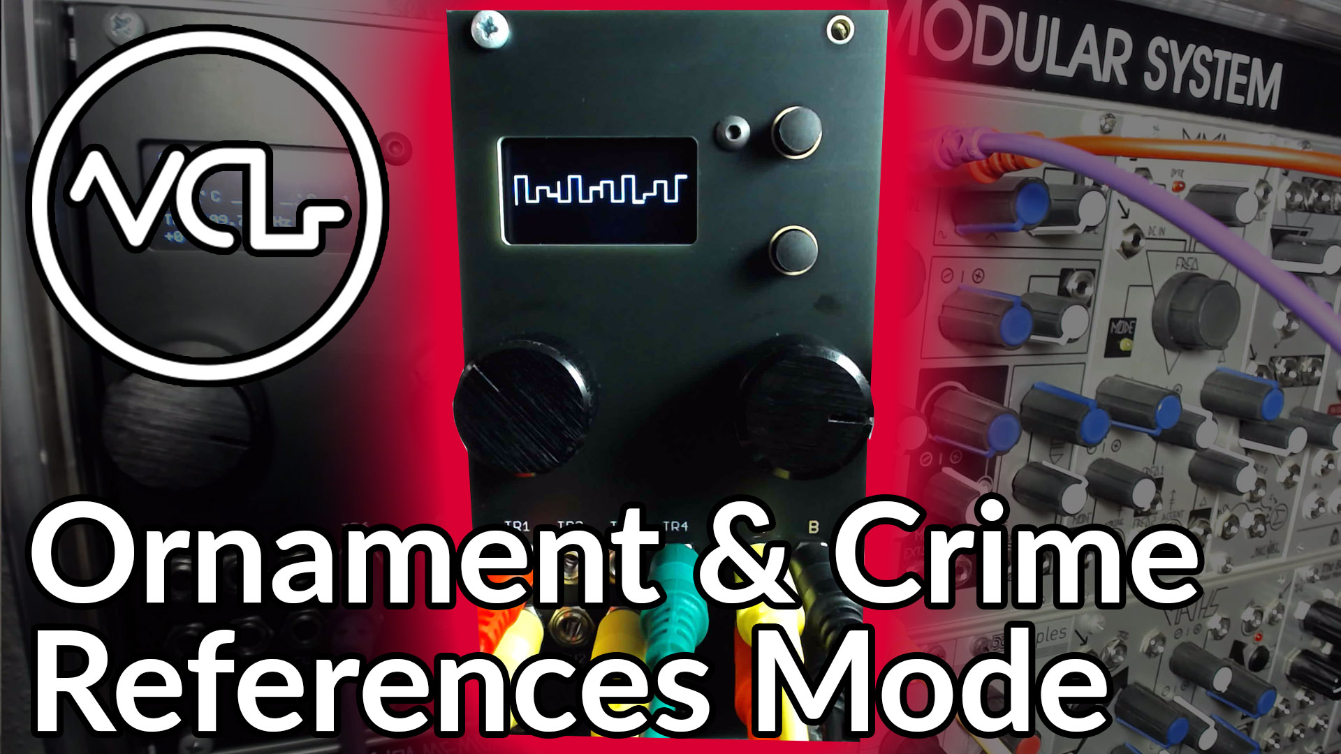 Pitch & BPM Tracking with Ornament & Crime - Voltage Control Lab